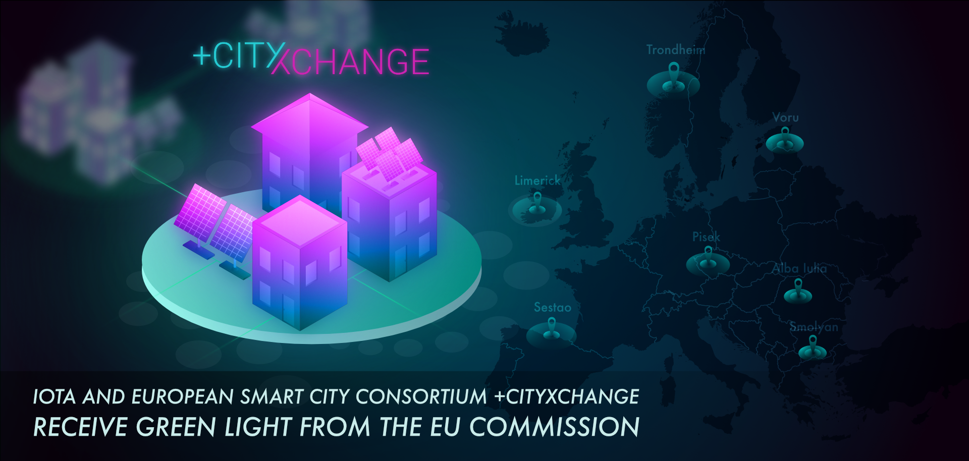IOTA +CItyxChange Smart City