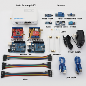 Dragino LoRaWan IoT Kit